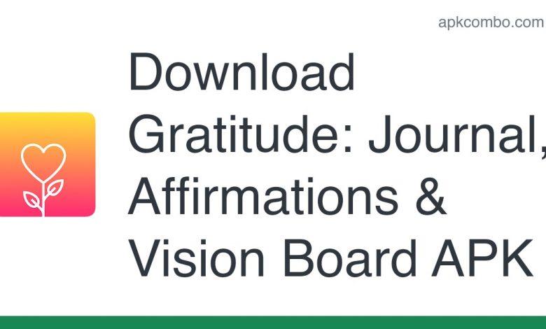 Download Gratitude: Journal, Affirmations & Vision Board APK