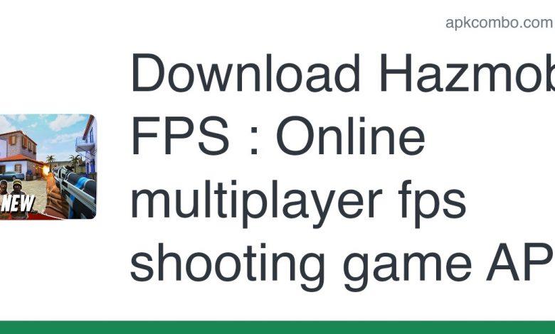 Download Hazmob FPS : Online multiplayer fps shooting game APK