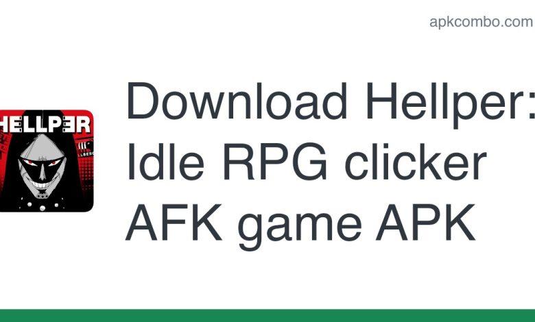Download Hellper: Idle RPG clicker AFK game APK