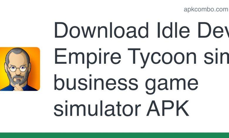 Download Idle Dev Empire Tycoon sim business game simulator APK