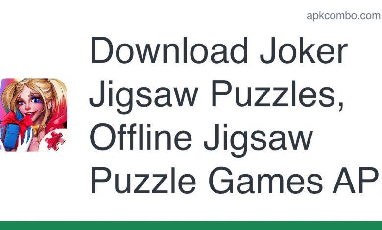 Download Joker Jigsaw Puzzles, Offline Jigsaw Puzzle Games APK