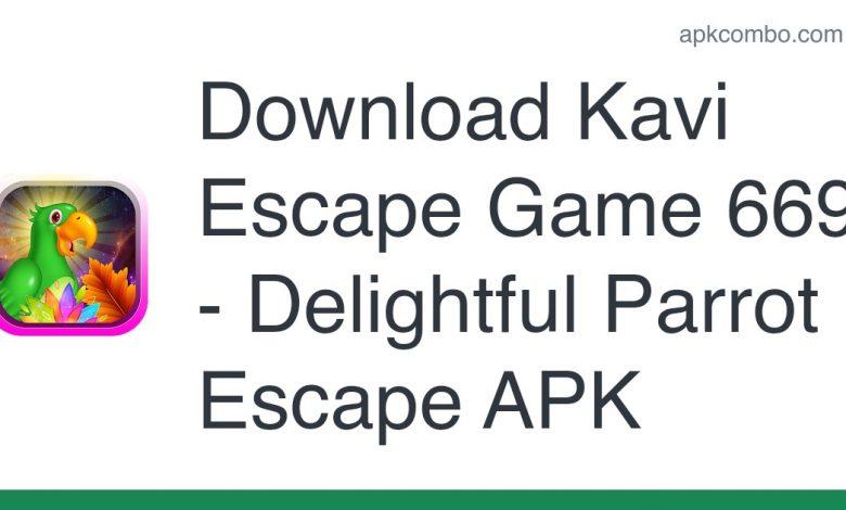 Download Kavi Escape Game 669 - Delightful Parrot Escape APK