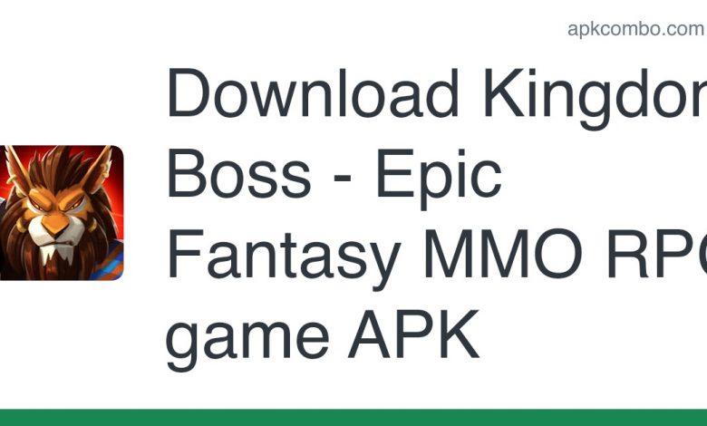 Download Kingdom Boss - Epic Fantasy MMO RPG game APK