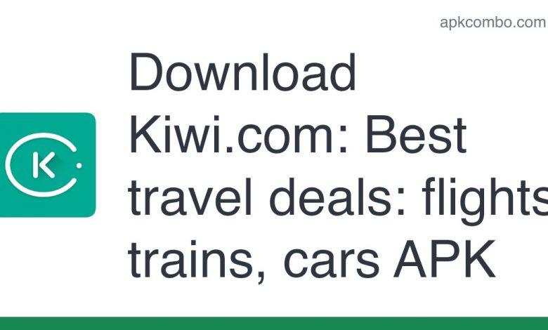 Download Kiwi.com: Best travel deals: flights, trains, cars APK