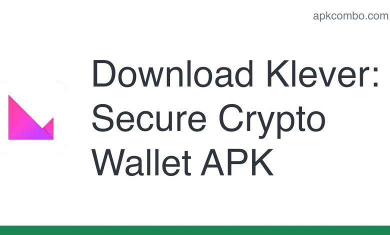 Download Klever: Secure Crypto Wallet APK