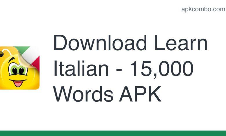 Download Learn Italian - 15,000 Words APK