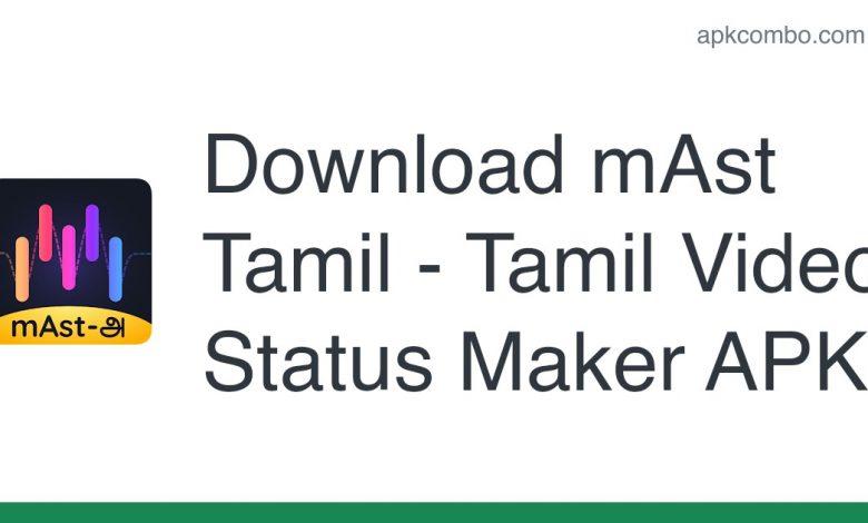 Download mAst Tamil - Tamil Video Status Maker APK