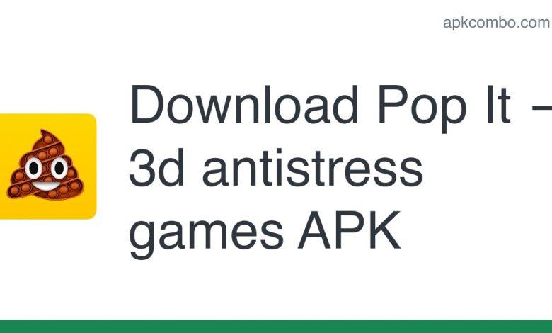 Download Pop It — 3d antistress games APK