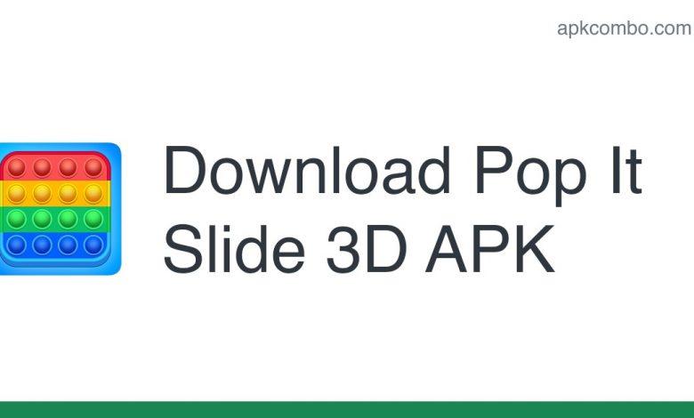 [Released] Pop It Slide 3D