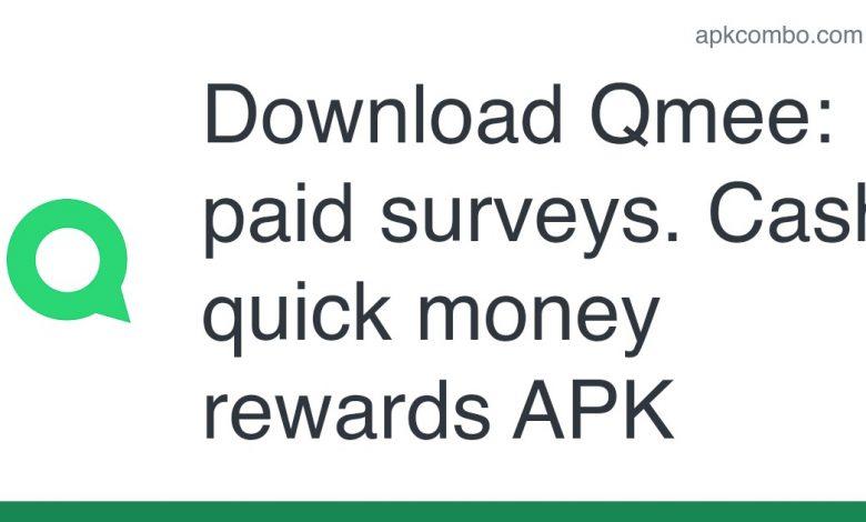 Download Qmee: paid surveys. Cash, quick money rewards APK