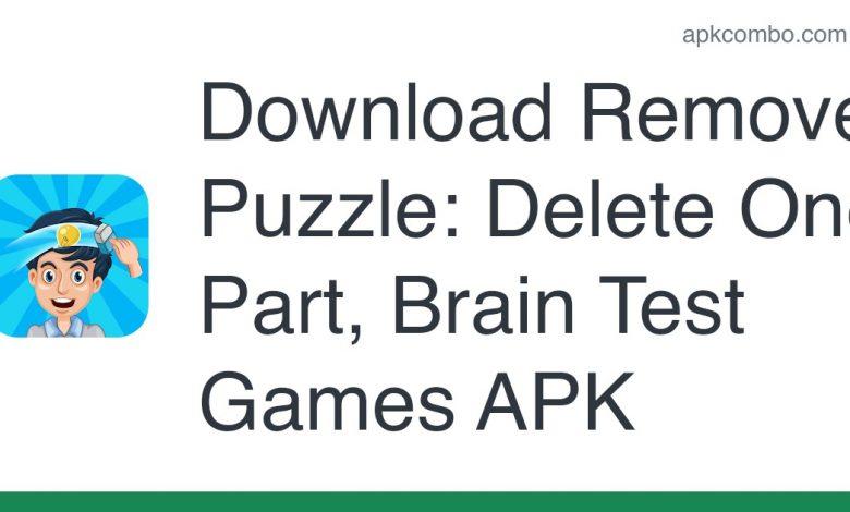Download Remove Puzzle: Delete One Part, Brain Test Games APK