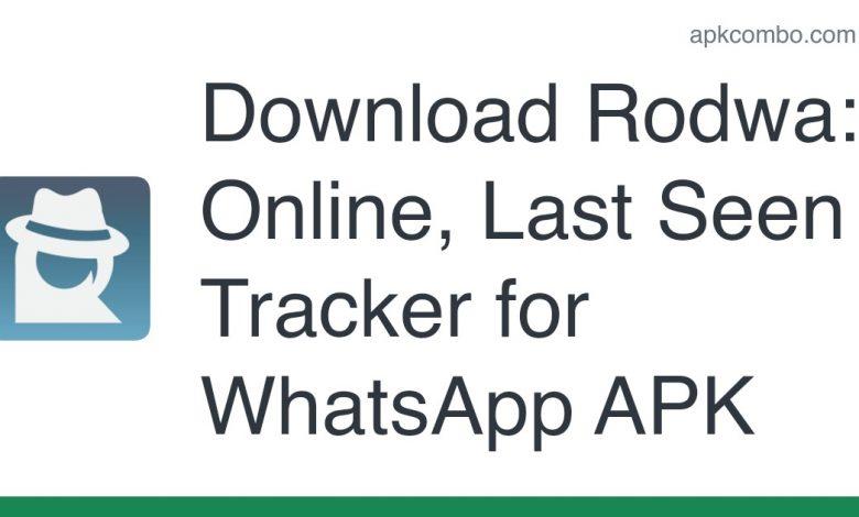 Download Rodwa: Online, Last Seen Tracker for WhatsApp APK
