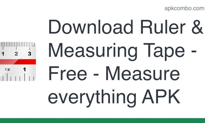 Download Ruler & Measuring Tape - Free - Measure everything APK
