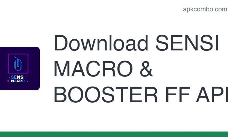 Download SENSI MACRO & BOOSTER FF APK