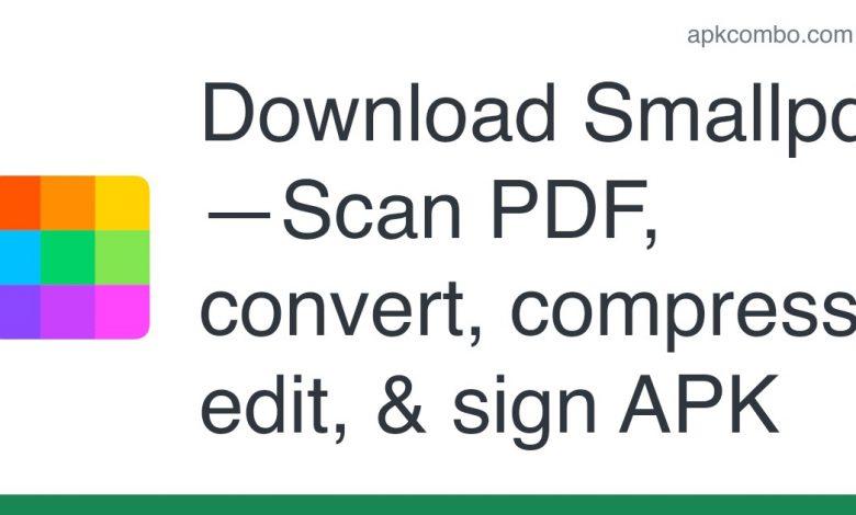 Download Smallpdf—Scan PDF, convert, compress, edit, & sign APK