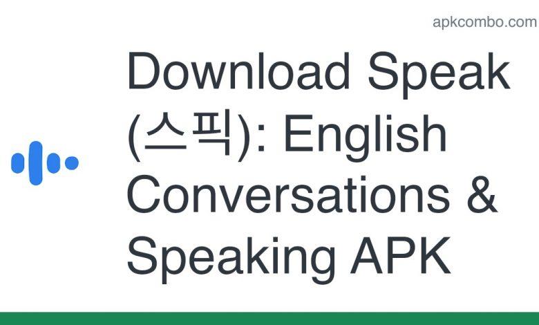 Download Speak (스픽): English Conversations & Speaking APK