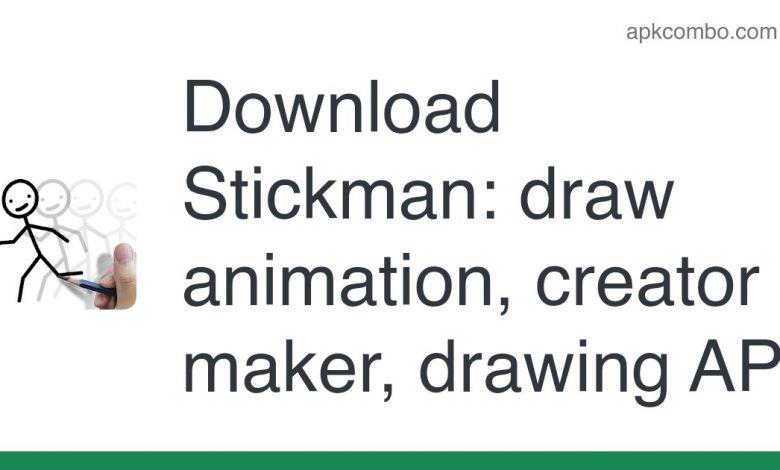 Download Stickman: draw animation, creator & maker, drawing APK
