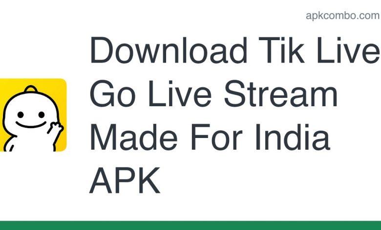 Download Tik Live - Go Live Stream Made For India APK