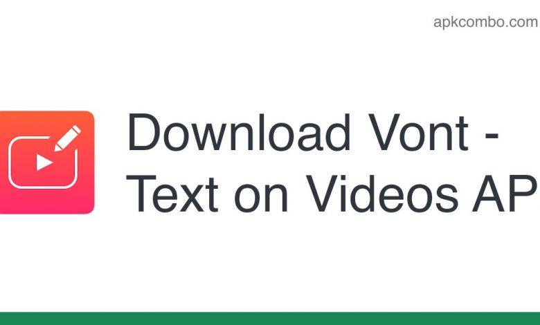 Download Vont - Text on Videos APK