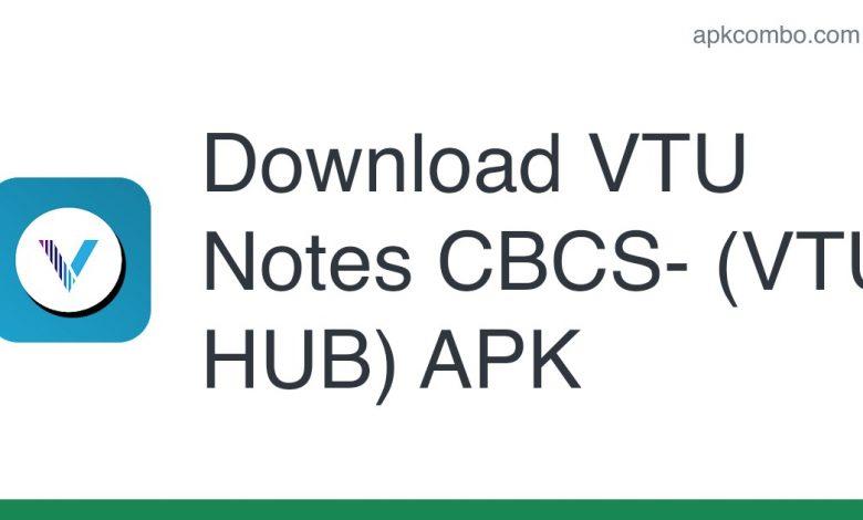 Download VTU Notes CBCS- (VTU HUB) APK