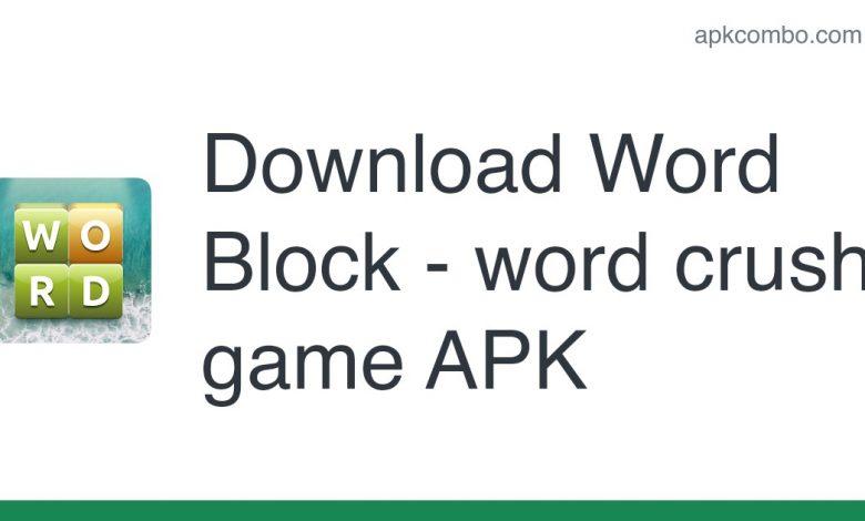 Download Word Block - word crush game APK