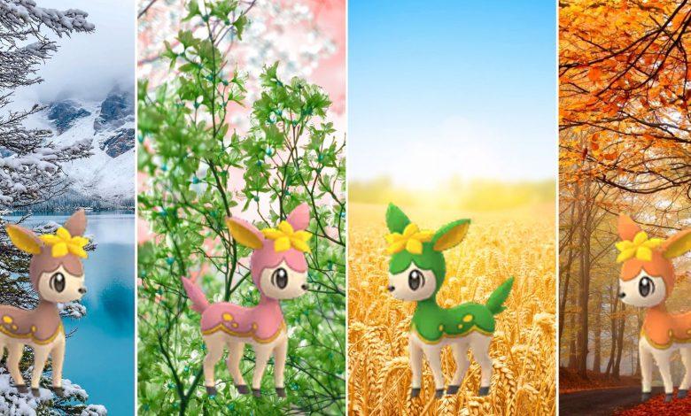 Pokemon GO: Best Moves For Deerling