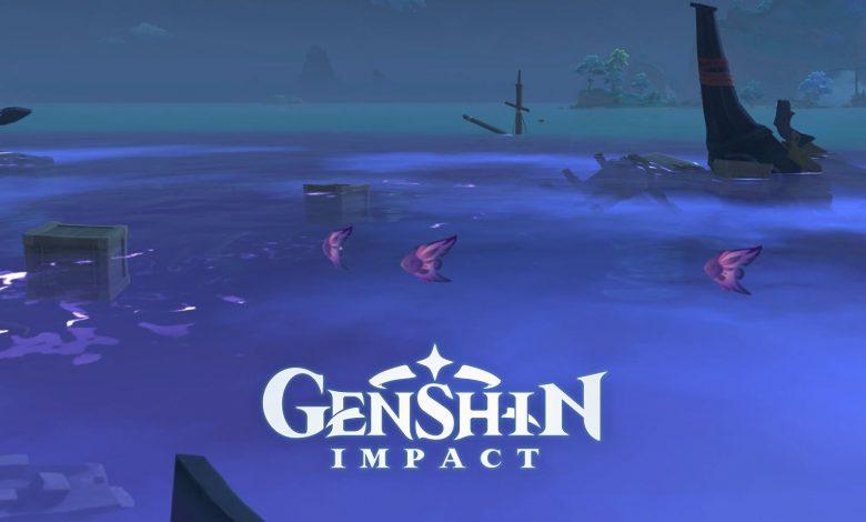 Genshin Impact: Raimei Angelfish Location