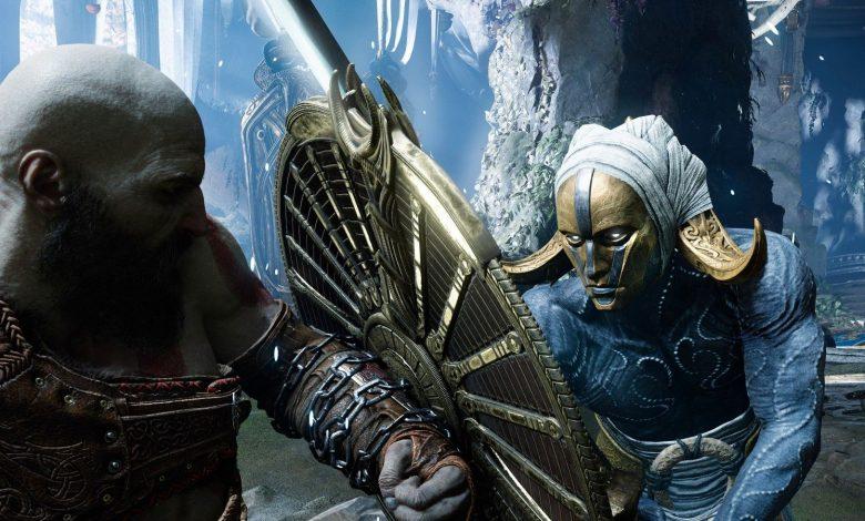 God of War Ragnarok Concept Art Shows World Serpent, Wolves