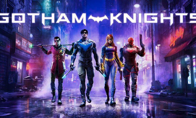 Gotham Knights Official Key Art Revealed