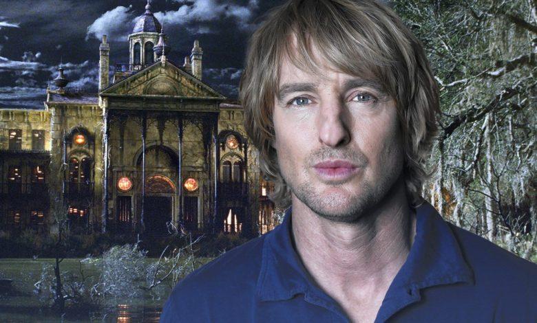 Haunted Mansion reboot Owen Wilson