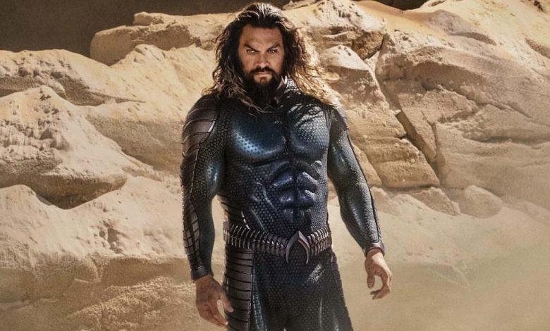 New Aquaman sequel image reveals Jason Momoa's new suit