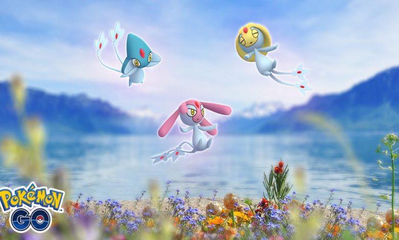 Pokemon GO Lake Trio Shiny Odds & How to Catch Uxie, Azelf & Mesprit