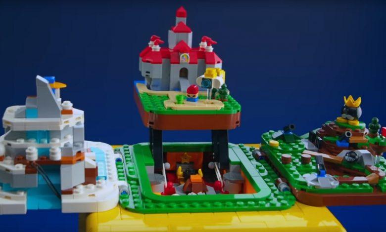 LEGO Super Mario 64 Question Mark Block set revealed, coming in October