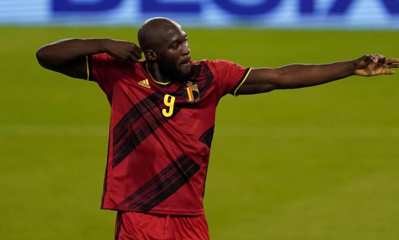UEFA World Cup qualifying scores: Romelu Lukaku scores on 100th cap for Belgium; Italy drop points