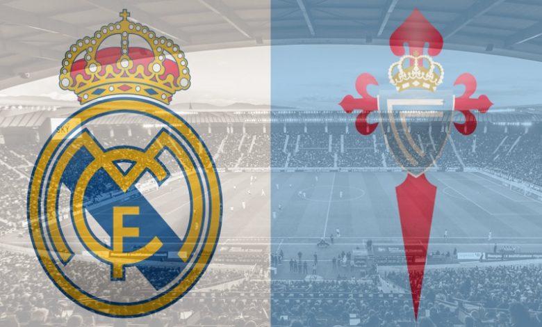 Real Madrid vs Celta Vigo Live in La Liga, watch live streaming