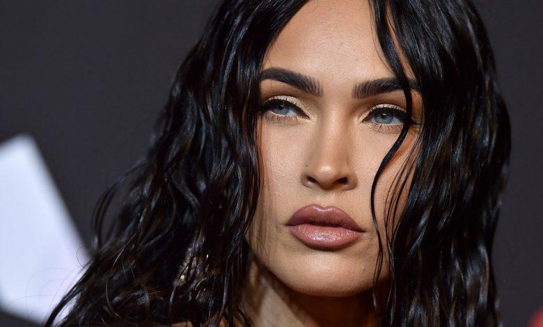 Megan Fox's Met Gala 2021 Hair Featured Blunt Bangs and an Ultra-Long Braid