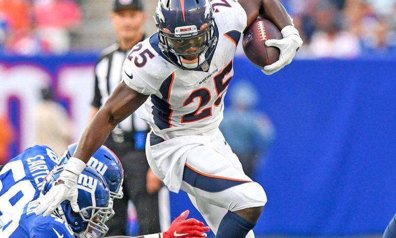 Fantasy Football Week 2 Start 'Em & Sit 'Em Running Backs: Broncos tandem both prime choices against Jaguars
