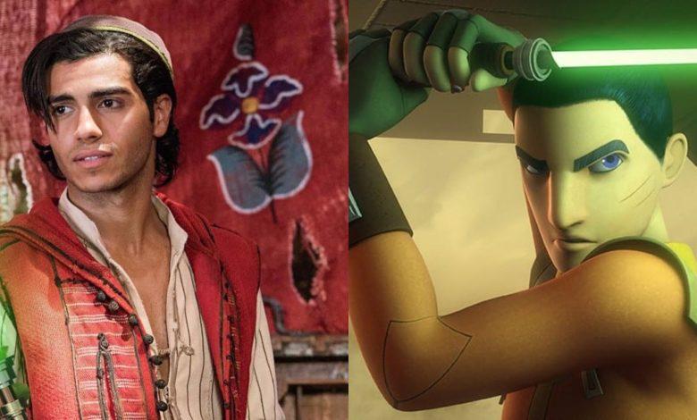 Aladdin Star Mena Massoud Responds To Ezra Bridger Rumors