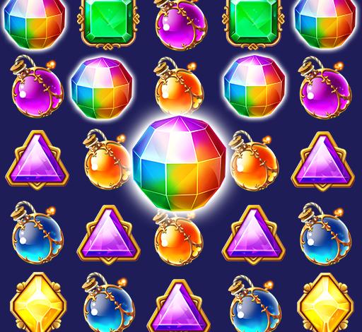 Jewel Castle™ - Classical Match 3 Puzzles 1.9.5 Mod Apk (unlimited money)