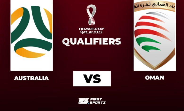Australia vs Oman