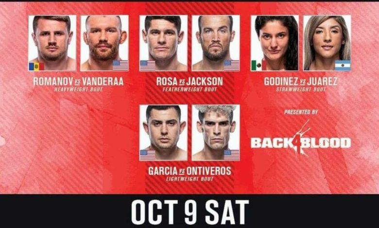 UFC Vegas 39 Prelims