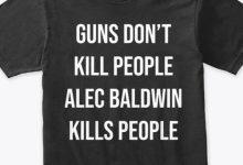 Donald Trump Jr. Is Hawking Shockingly Tacky 'Alex Baldwin Kills People' T-Shirts