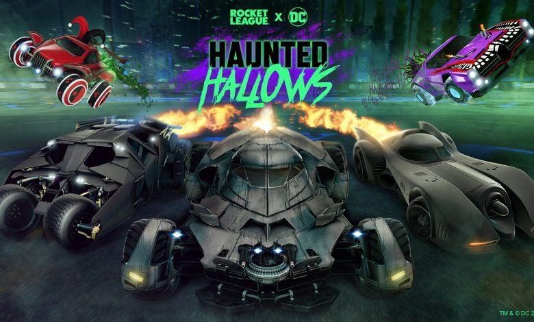 Rocket League calls Batman for 2021 Haunted Hallows event